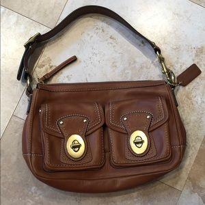 Coach leather purse.